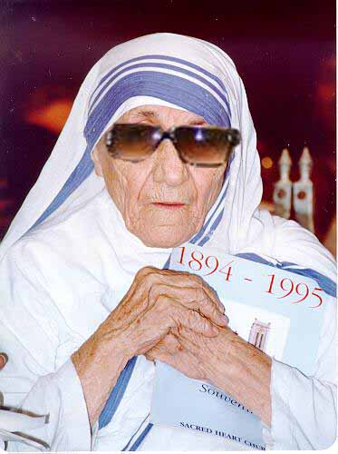 Mother Teresa before her death